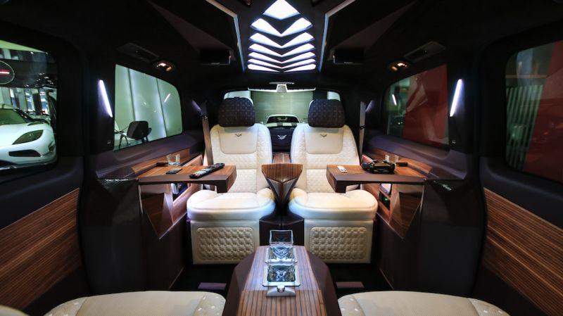 Mercedes Benz V-Class Dizayn VIP