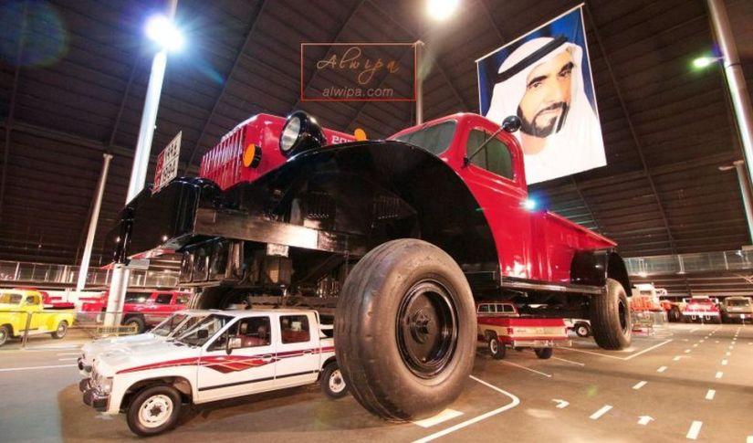 Automobile museum Abu Dhabi