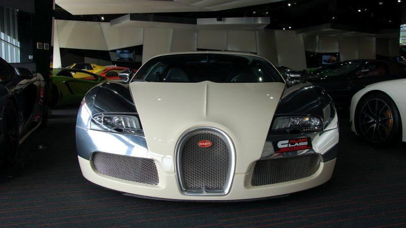 Bugatti Veyron white