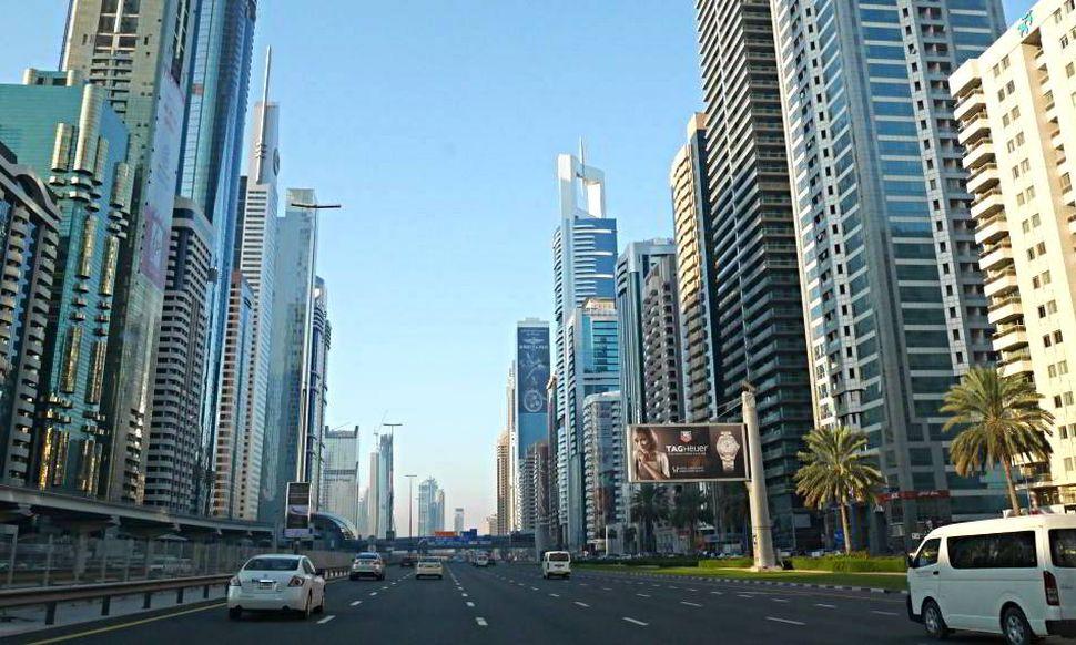 Dubai Road Content