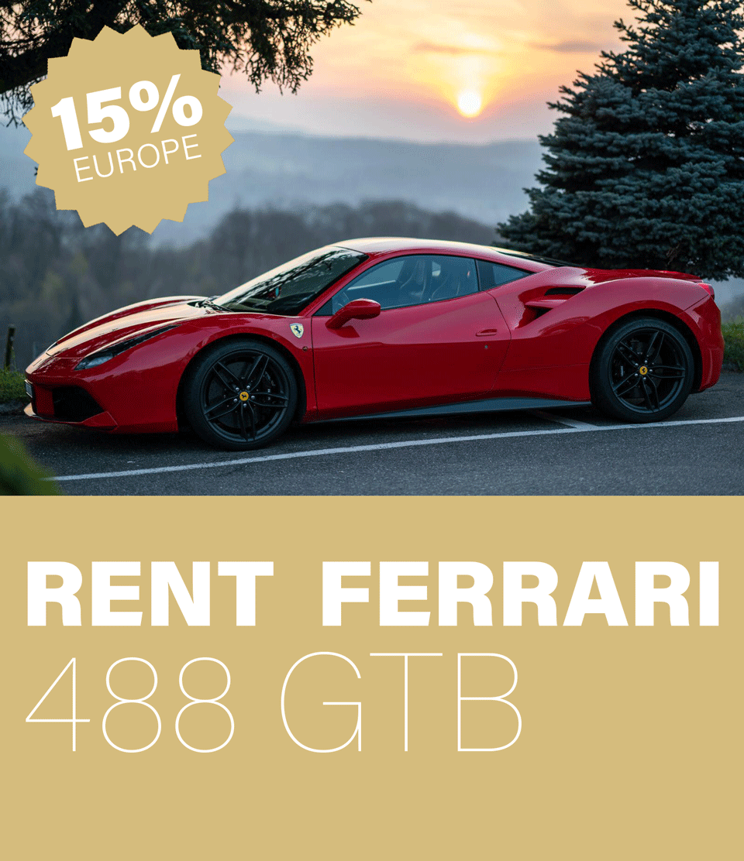 Rent Ferrari 488 GTB