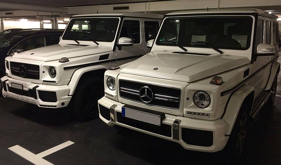 Mercedes Benz G Klasse mieten
