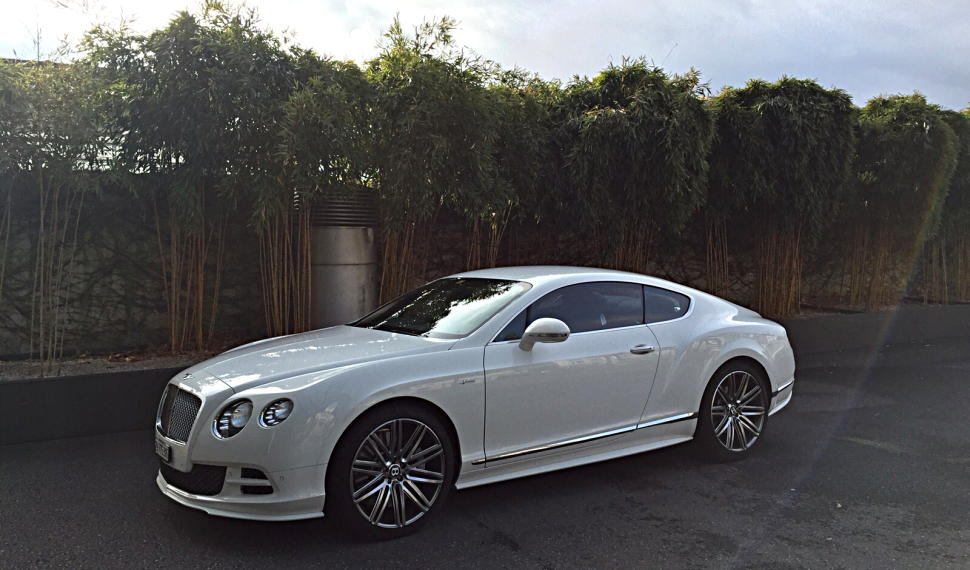 Bentley GT Speed mieten