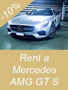 Rent Mercedes AMG GT S