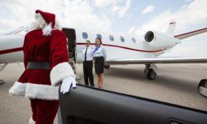 Santa Claus Privatjet Content
