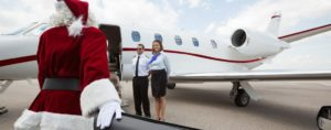 SantaClaus Privatjet Header