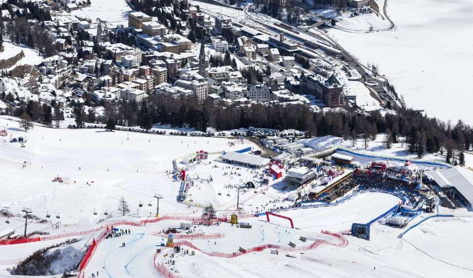StMoritz Ski WM Ziel