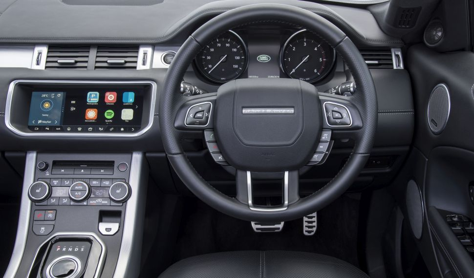 Range Rover InControl Apps