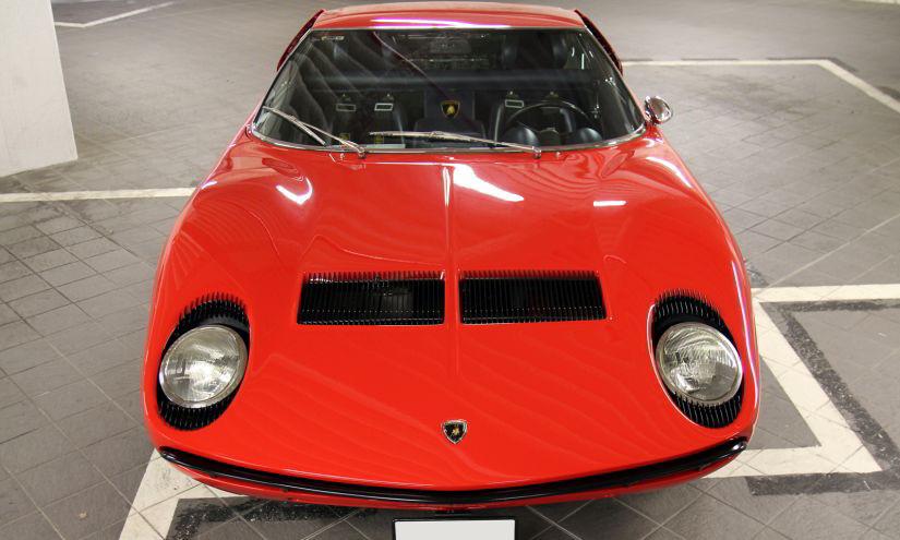 Lamborghini Miura Eyelashes