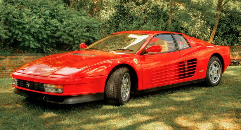 Ferrari Testarossa Content