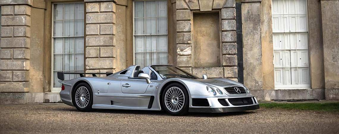 Mercedes CLK GTR header