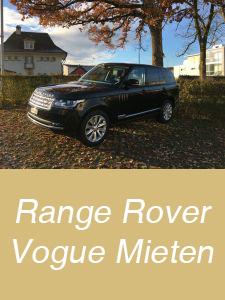 Range Rover Vogue Mieten