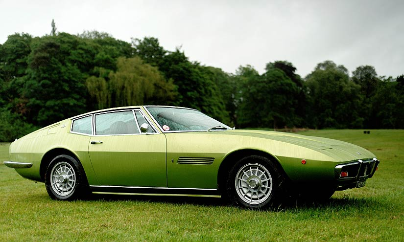 Origins of the Maserati Ghibli