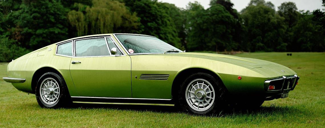 Origins of the Maserati Ghibli