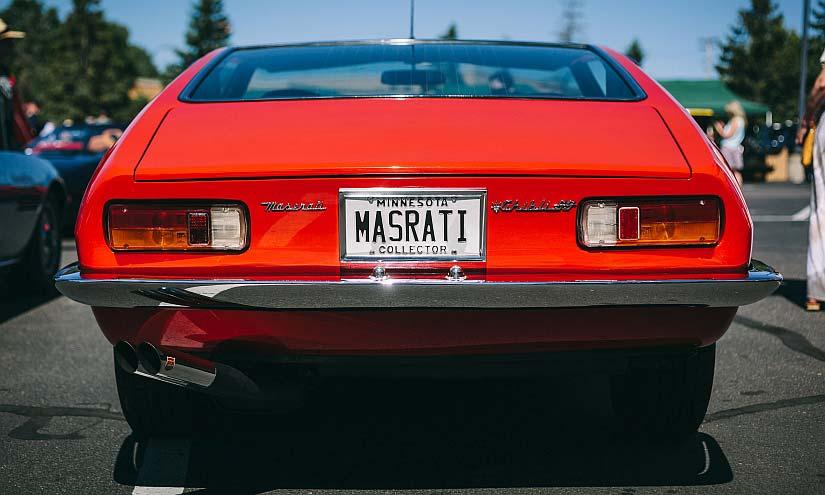 Maserati Ghibli Heckansicht