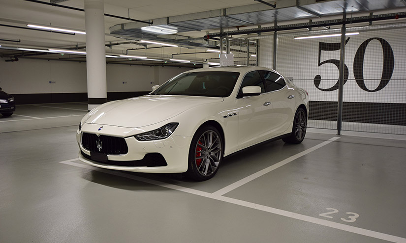 Modern Maserati Ghibli