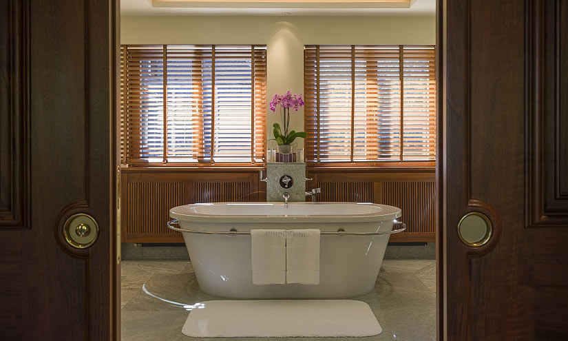 Suite Badezimmer Suvretta House