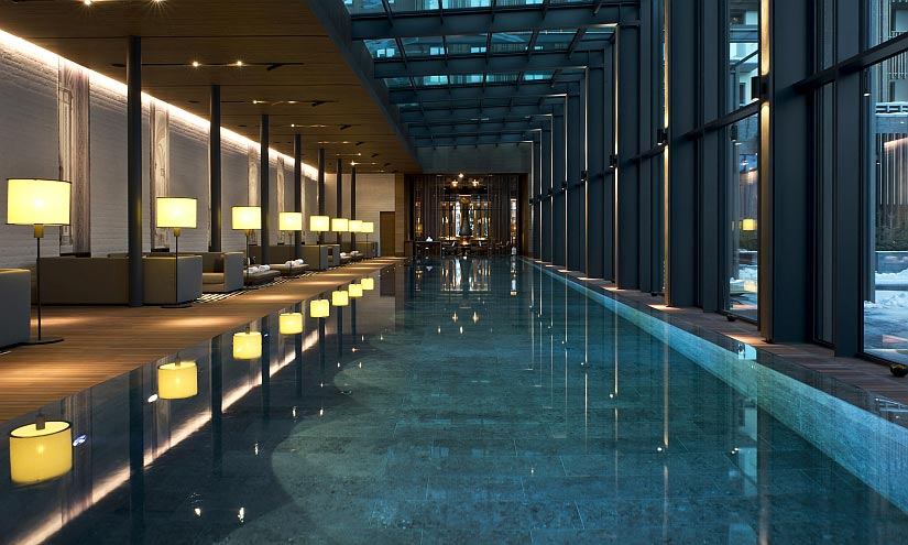 Indoor Pool The Chedi