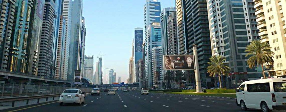 Dubai Road Header