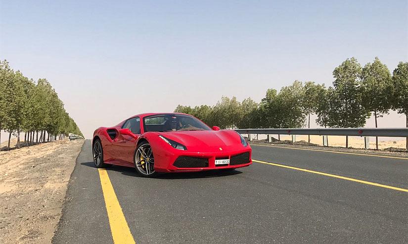Ferrari Wüste