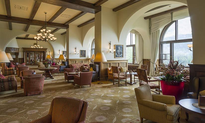 Hotel Lobby Suvretta House