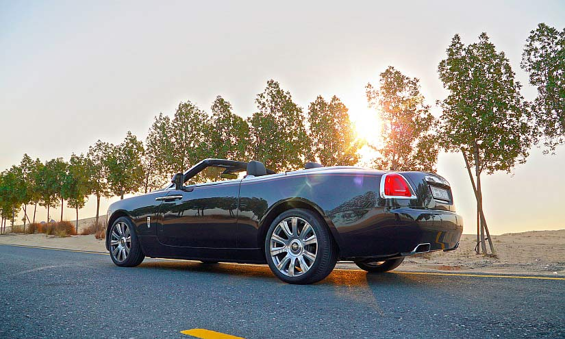 Rolls Royce Wüste