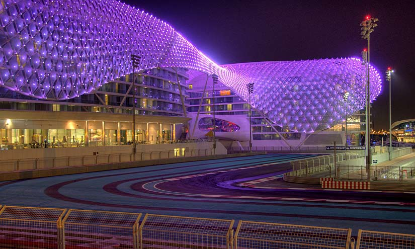 Yas Marina Hotel by Rob Alter