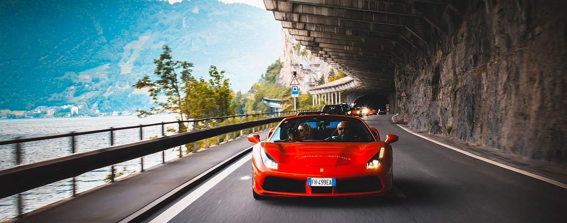 Das sind die aufregendsten Sportautotouren Europas Header