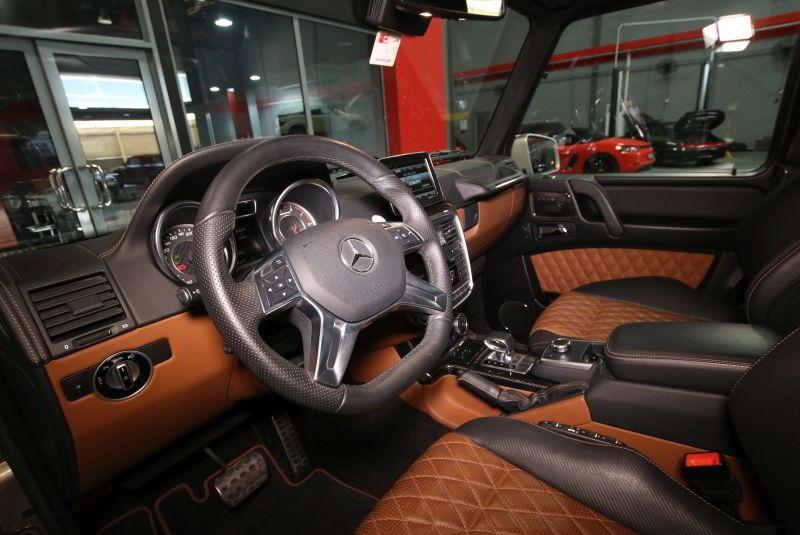 Mercedes G63 AMG Interieur