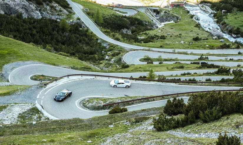 Top Gear Tour Mountain Pass
