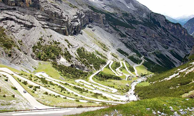 Top Gear Tour Stevio Pass
