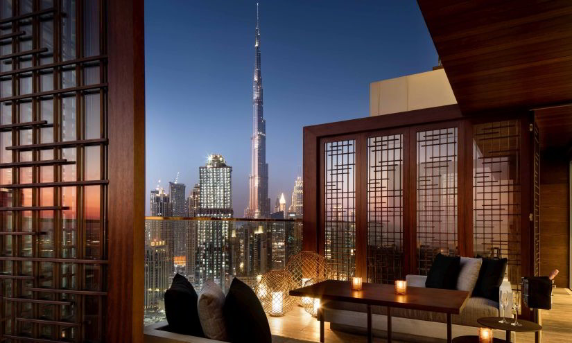Renaissance Hotel View Burj Khalifa