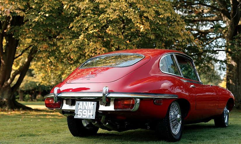 Jaguar E-Type Heck