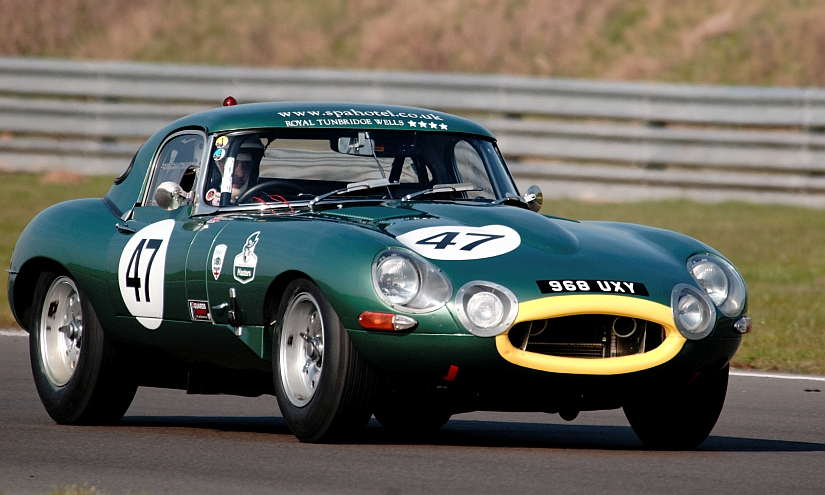 Jaguar E-Type Lightweight Green