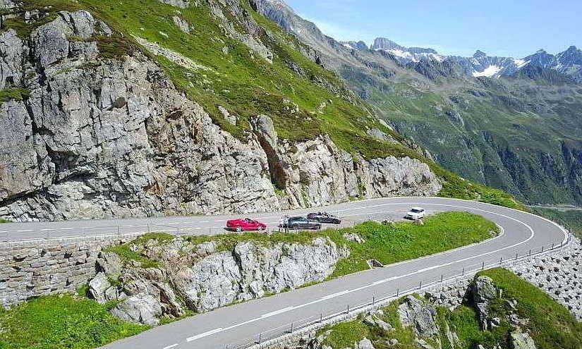Passstrasse Schweiz