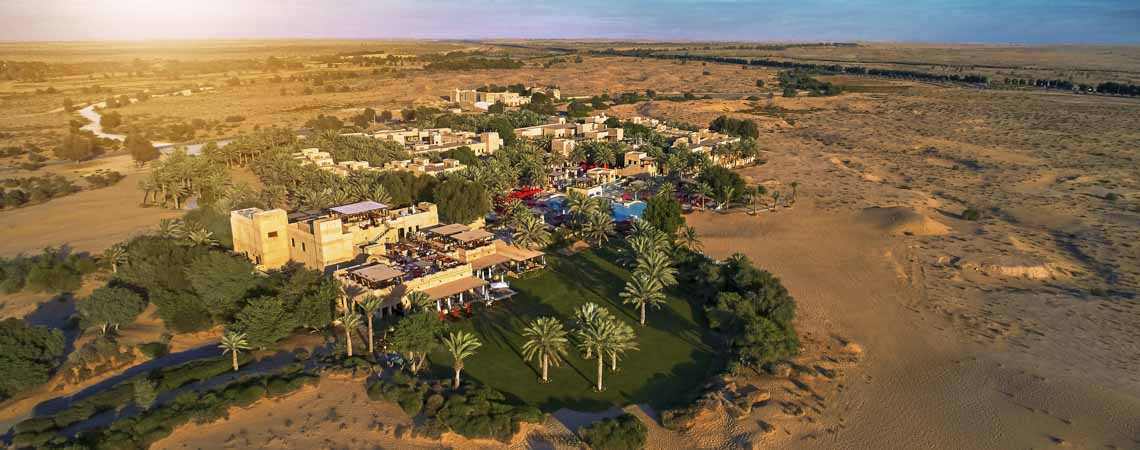 Bab Al Shams Desert Resort Header