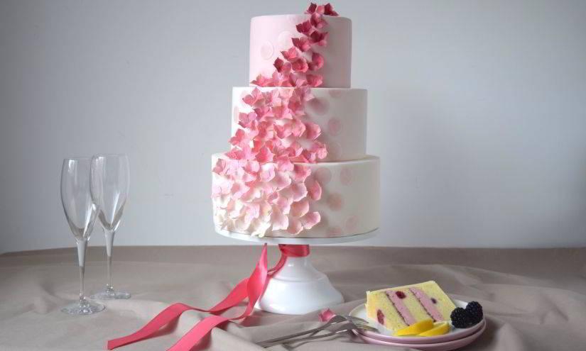 Hochzeitstorte von Cake J'adore