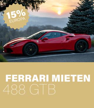 Ferrari 488 GTB mieten