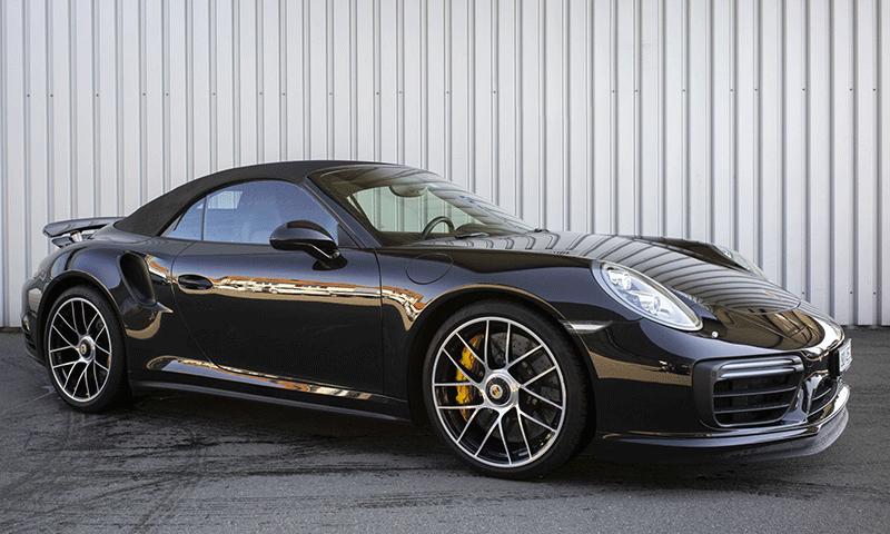 Porsche 911 Turbo S Cabrio mieten