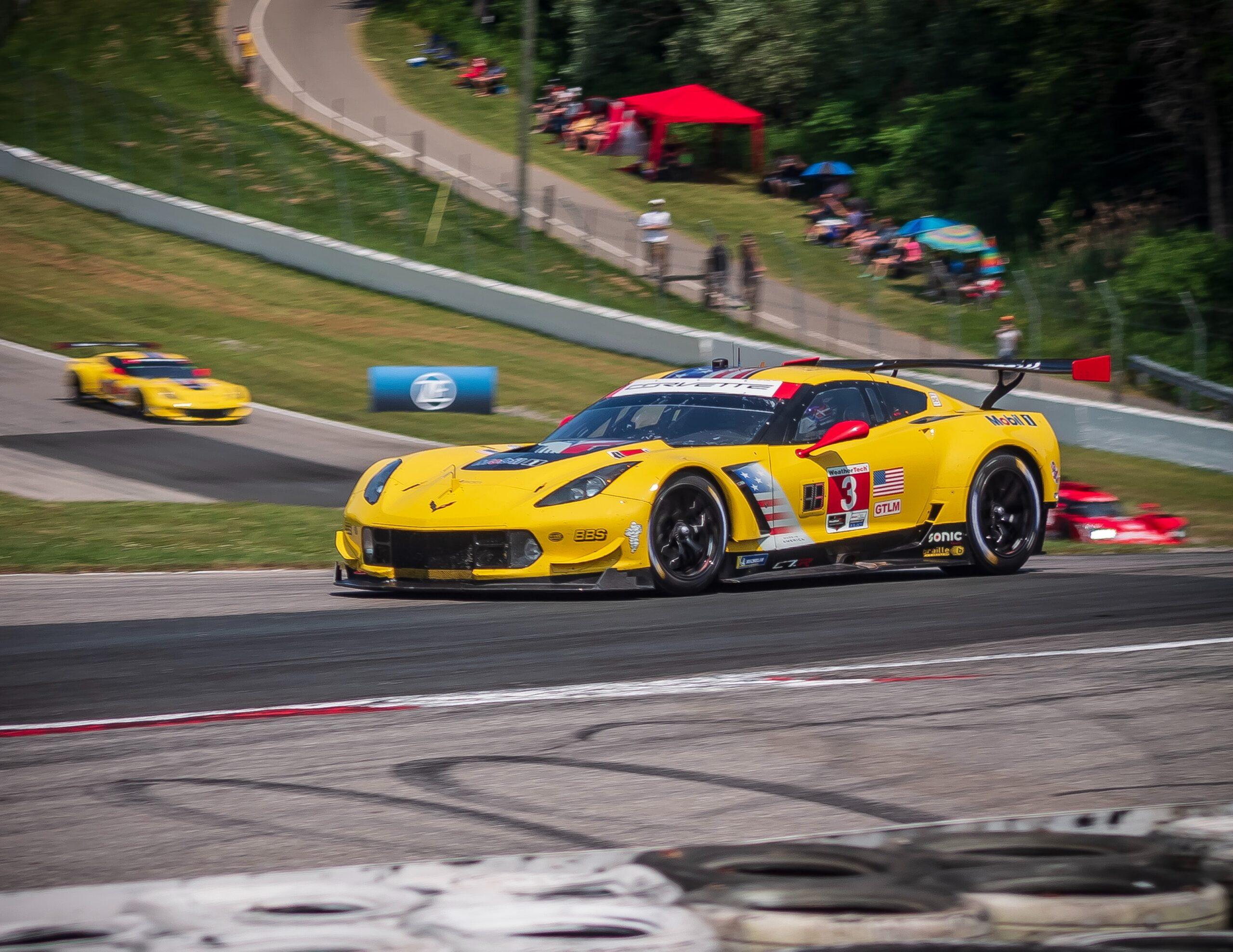 Corvette race track