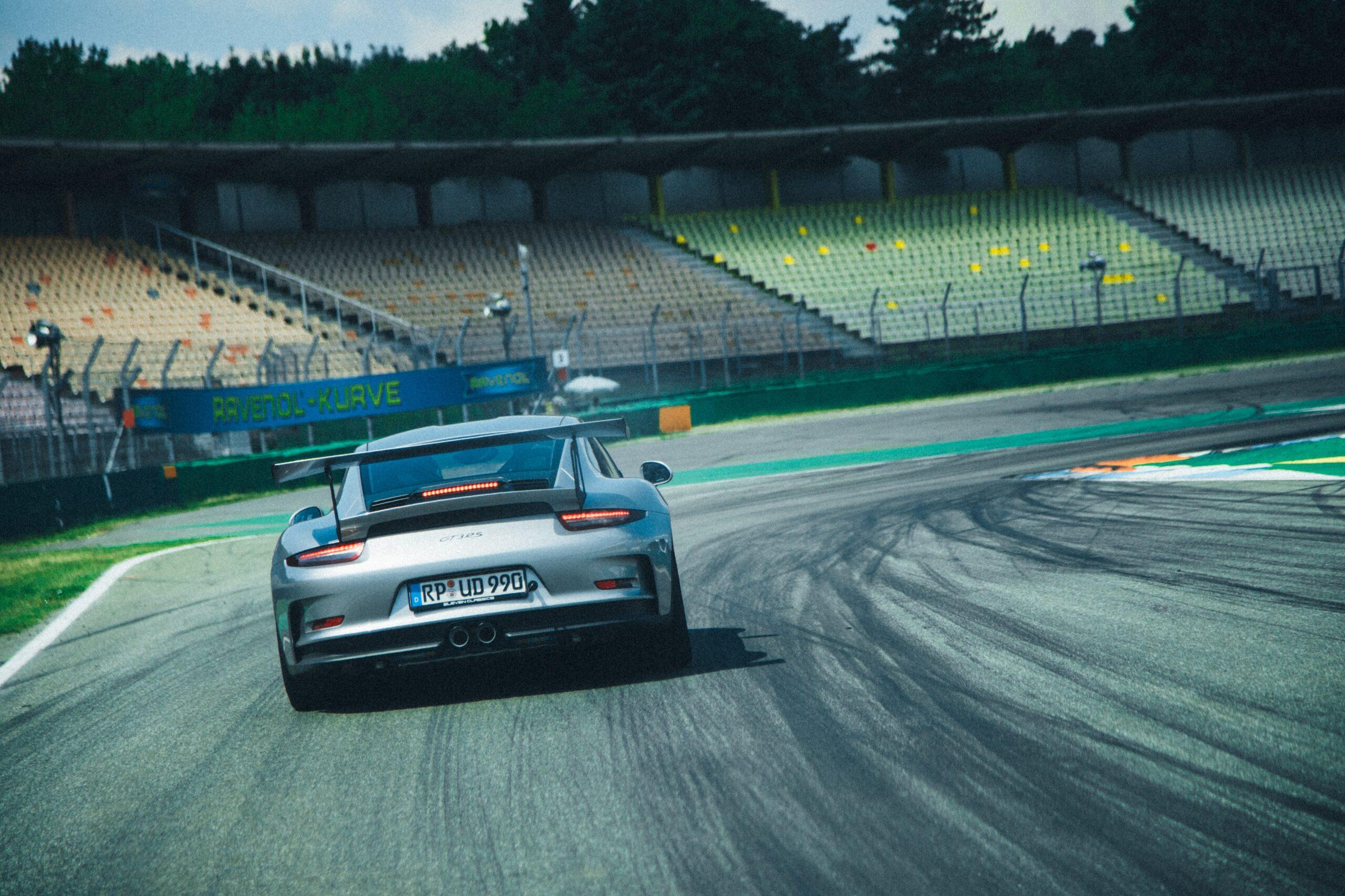 Porsche race track