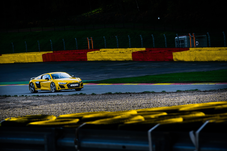 AudiR8 race track