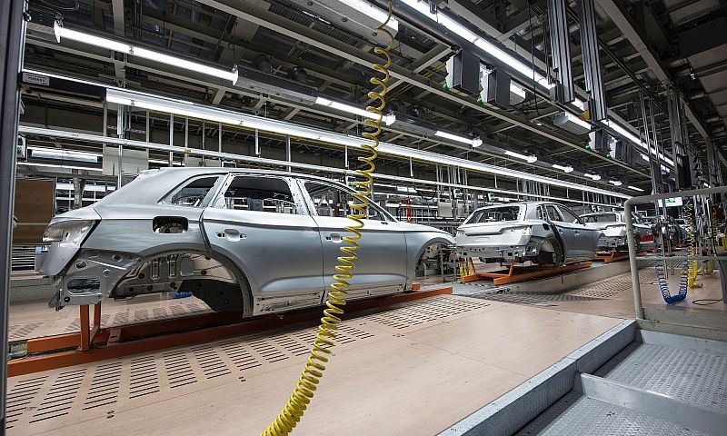 car production line small
