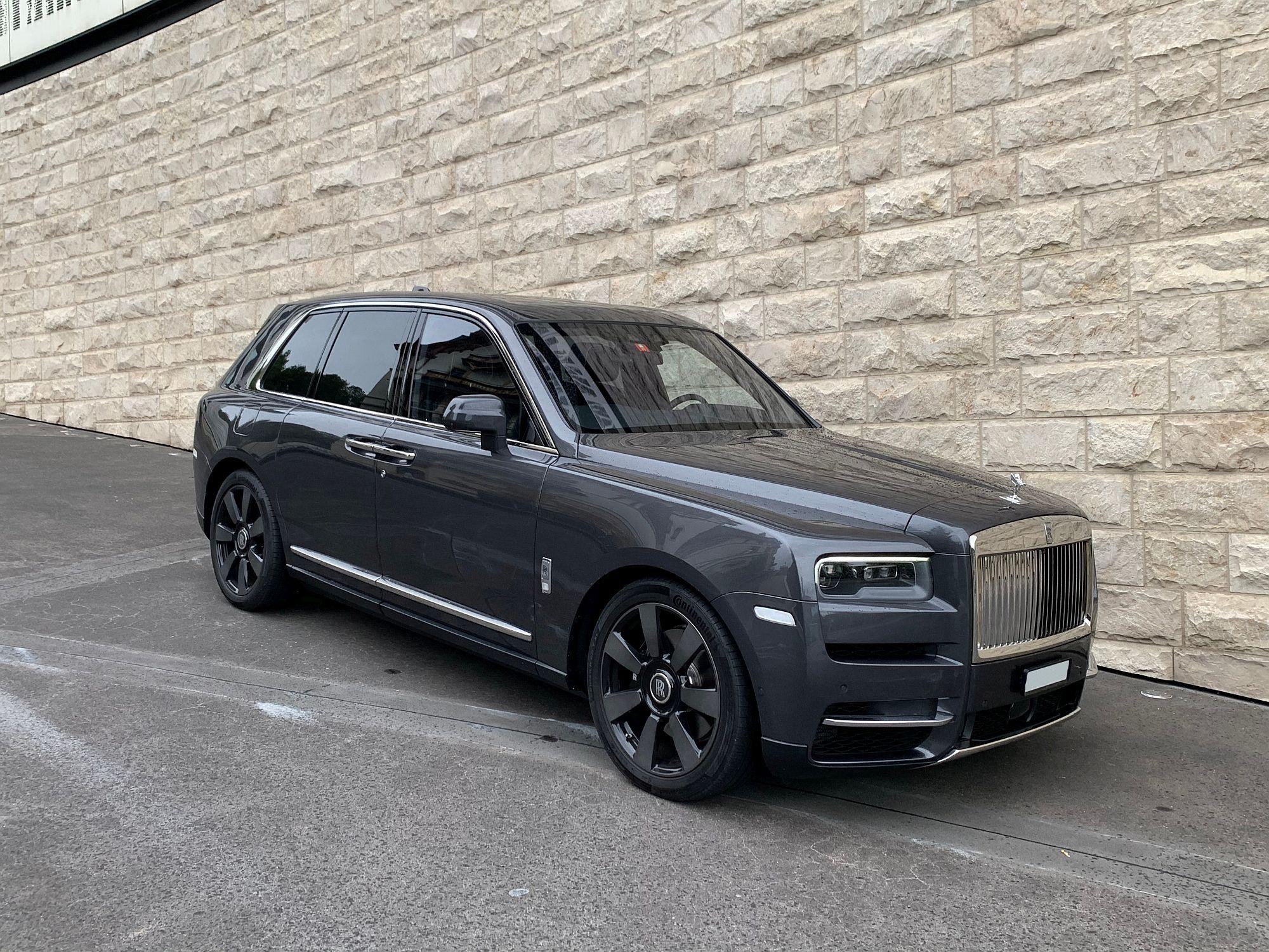 Rolls Royce Cullinan mieten