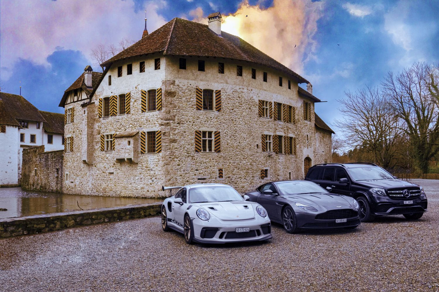 Selection cars castle Hallwyl