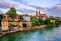 View on the Rhine in Basel
