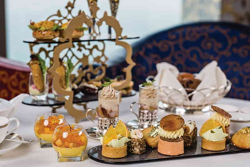 Sahn Eddar Arabesque Afternoon Tea