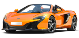 Rent McLaren 650S Spider in Europe