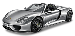Rent Porsche 918 Spyder in Europe