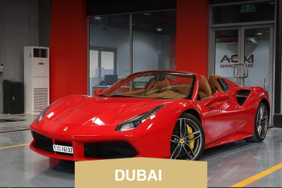Rent Ferrari 488 Spider